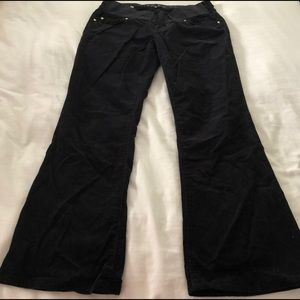 Juicy Couture: corduroy maternity pants
